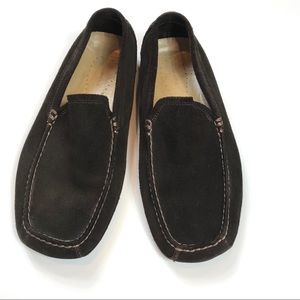 Banana Republic Brown Suede Driving Moc sz 9 EUC!